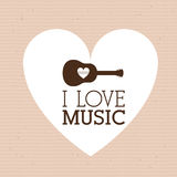 Love  music Stock Photo
