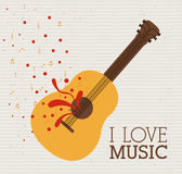 Love  music Stock Photos