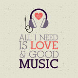 Love  music Stock Photo
