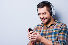 Love this music. Royalty Free Stock Photos
