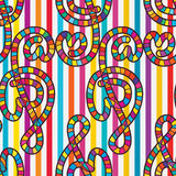 Love Music Note Seamless Pattern Royalty Free Stock Photo