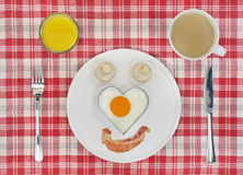 Love my english breakfast Royalty Free Stock Images