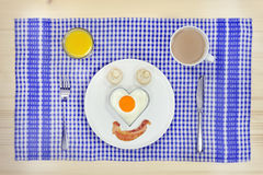 Love my english breakfast Stock Image