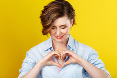Love is always on my mind. Stock Images