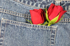 Love in my Pocket (Horizontal) Royalty Free Stock Photos
