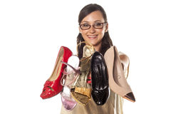 Love my shoes royalty free stock photo