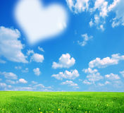 Love nature background Stock Images