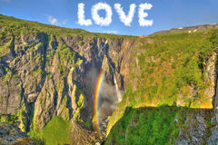 Love Nature Concept Royalty Free Stock Photography