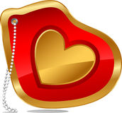 Love Necklace Royalty Free Stock Images