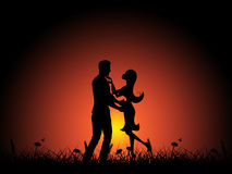 Love Night Indicates Adoration Tenderness And Boyfriend Stock Photo
