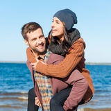 Love with no regrets. Royalty Free Stock Images