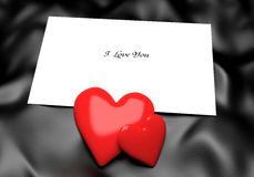 Love Note Background. Love Note with place for Your text Royalty Free Stock Image