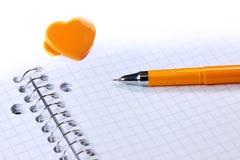 Love note concept Stock Photos