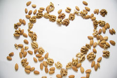 Love nuts Stock Photo