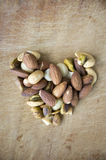 Love nuts Stock Image