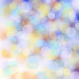 Colorful blur bokeh background. Stock Image
