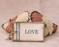 Love Of Two Hearts Royalty Free Stock Photography