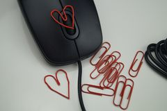Love in the office Stock Photos