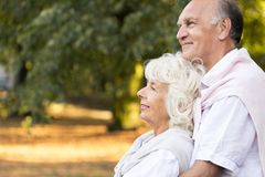 Love in old age Stock Photos