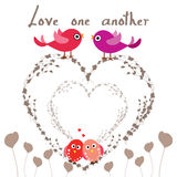 Love one another. As I have loved you. John 13- 34-35 royalty free illustration