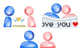 Love online Stock Image