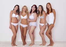 We love our bodies Stock Photo