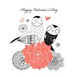 Love owls Stock Photo