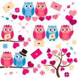 Love Owls Stock Image