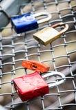 Love padlock Stock Images