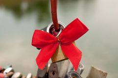 Love padlock. Royalty Free Stock Images