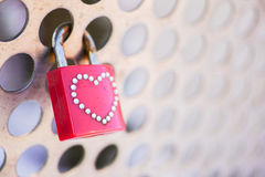 Love padlock Royalty Free Stock Image