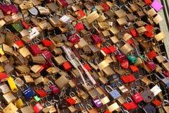 Love padlocks Stock Image