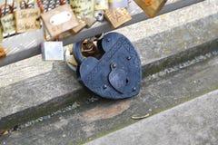Love padlocks, Paris Royalty Free Stock Image