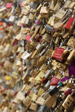 Love padlocks Royalty Free Stock Photo