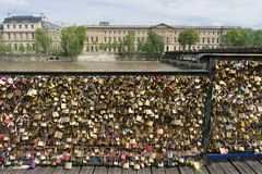 Love padlocks Royalty Free Stock Image