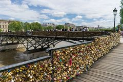 Love padlocks Royalty Free Stock Photos