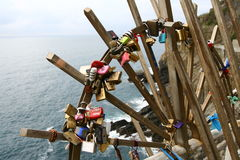 Love padlocks Royalty Free Stock Image