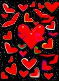Love paint Royalty Free Stock Photo