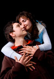 In love pair royalty free stock photo