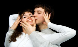 In love pair Royalty Free Stock Image