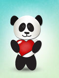 Love panda Stock Photos