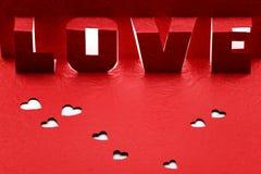 LOVE paper cut Stock Photos
