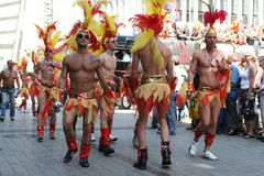 Love Parade of homosexual Royalty Free Stock Images