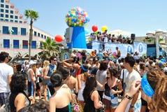Love parade in Tel Aviv royalty free stock images
