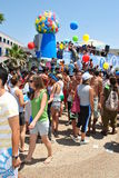 Love parade in Tel Aviv Stock Image