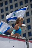 Love parade in Tel Aviv Stock Photography
