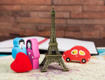 In love in Paris Royalty Free Stock Photography