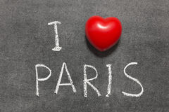 Love Paris Royalty Free Stock Photos