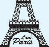 Love Paris Royalty Free Stock Image