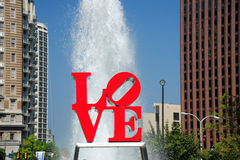 Love park Royalty Free Stock Photos